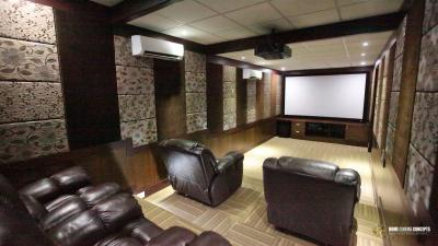 Premium Inwall Home theater